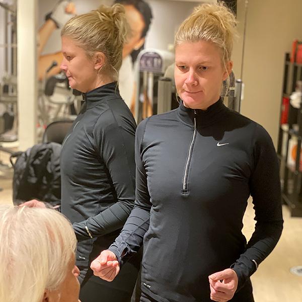 Frida Åberg, instruktör på ViMa´s