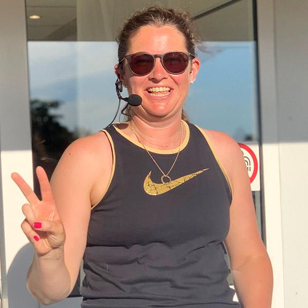 Maria Grauffman, instruktör Vimas Träningscenter